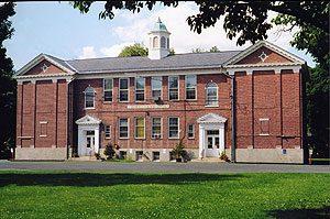 The Deerfield Teachers' Center, 10 Memorial Street in Deerfield, MA.